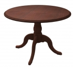 "Cambria Laminate 42"" Round Conference Table with Queen Ann Base"