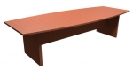 Boat Shaped Laminate Conference Table 4' x 10'
