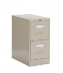 "Global 2500 Series-2 Drawer Vertical File Letter Size 25""D"