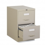 "Global 2500 Series-2 Drawer Vertical File Legal Size - 25""D"