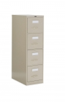 "Global 2500 Series-4 Drawer Vertical File Letter Size - 25""D"