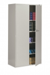 9300 Series-Two Door Storage Cabinet, 18D x 36W x 72H