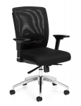 OFFICES TO GO-Executive Mesh Chair with Arms