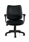 OTG Management Tilter Chair with Adjustable Arms