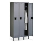 Tennsco Triple Unit, Single Tier Lockers