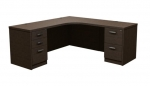 Trendway Executive Intrinsic 66 x 72 Corner Desk, Left