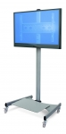 Mobile LCD TV Mount with shelf
